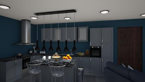 flats - Kitchen - by sarahmatthews607