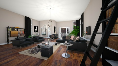 Love The Way You Live - Modern - Living room - by bleucooper