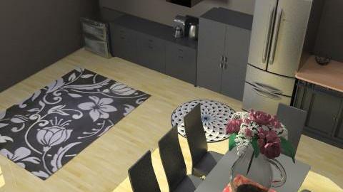 my kitchen  - Glamour - Kitchen - by ninanina123