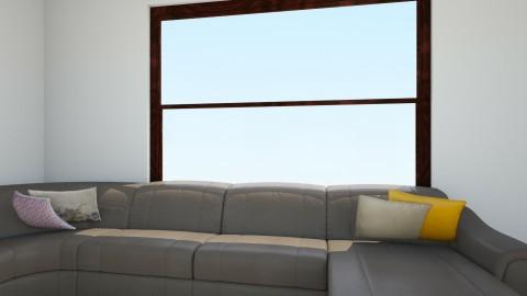 sala moderna - Living room - by JULYADUDA_MONTANARI
