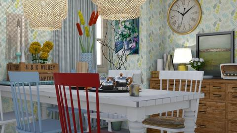 The odd one out - Classic - Dining room - by HenkRetro1960