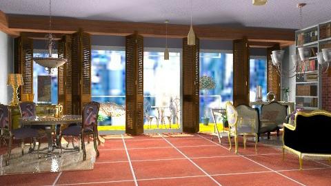 Let's meander to the veranda - Vintage - by mrschicken