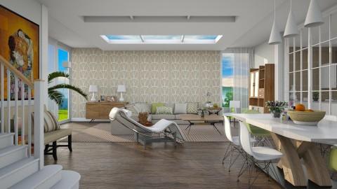 Classic Beige - Modern - Living room - by janip