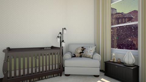 baby badroom - Glamour - Kids room - by Talia Fernanda