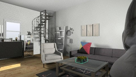 Modern - Modern - Living room - by coccinelledu28