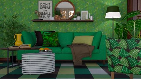 Its not easy being green - Modern - Living room - by HenkRetro1960