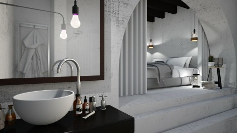 Cosy Sleeping Cave - Modern - Bedroom - by StienAerts