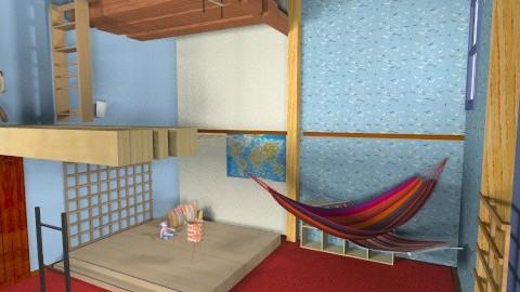ana's room - Classic - Kids room - by AnaACE16