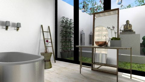 Downstairs Bath - Eclectic - Bathroom - by 3rdfloor