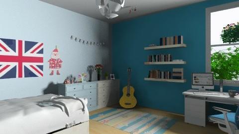my room - Minimal - Bedroom - by dungtran