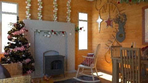 Design48 - Classic - Living room - by blondina14