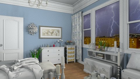 Insomnie - Classic - Bedroom - by Bibiche