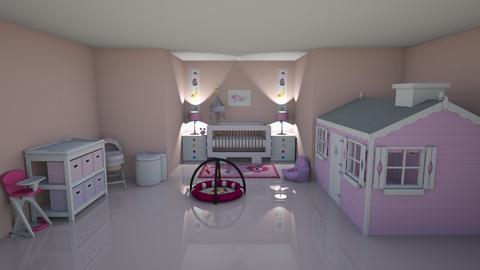 ROSA - Feminine - Kids room - by kellynazha