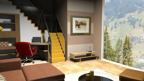 calmaria  - Rustic - Living room - by sahfs