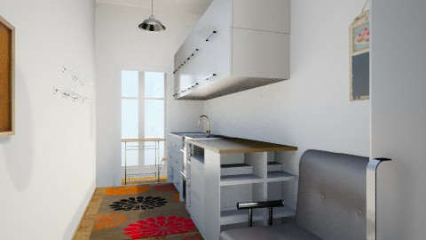 bucatarie 2 - Kitchen - by opheliact