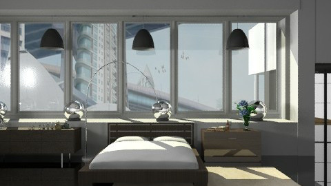 Minimalist bedroom. - Modern - Bedroom - by Your well wisher