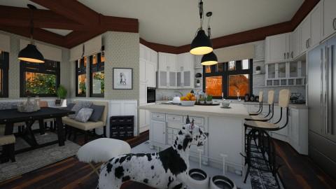 For The Family - Dining room - by SimonRoshana