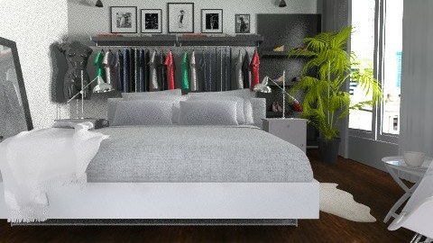 Bedroom - Modern - Bedroom - by Weiting Chien