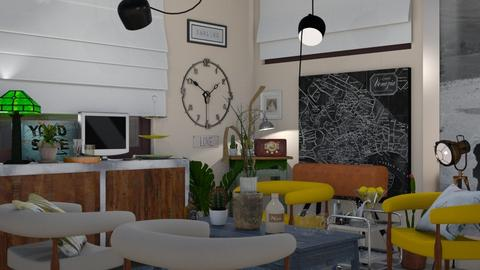 The collector  - Retro - Living room - by The quiet designer