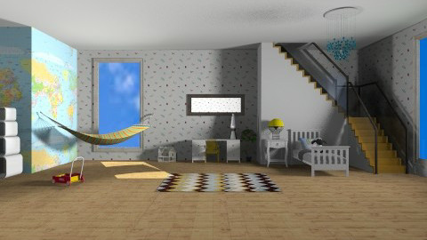 kids room  - Modern - Kids room - by bethany81