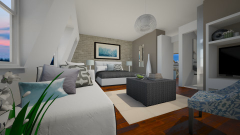 Be My Guest - Modern - Bedroom - by channing4
