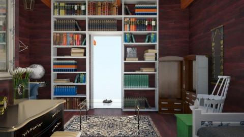 Riverboat - Vintage - Bedroom - by AshleyVanDriesche