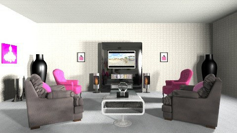 de_library - Glamour - Living room - by eileen tenuise