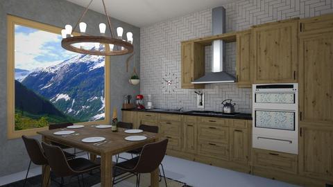 IP Artisan Kitchen - Kitchen - by Anabel Monserrate