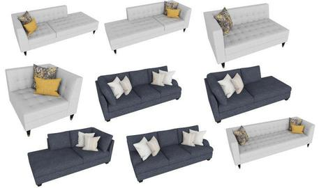 couch - by husky interior designs