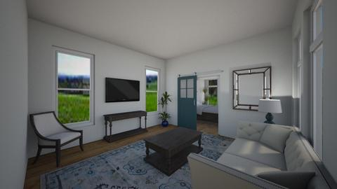 farmhouse living - Living room - by spencethewhovian