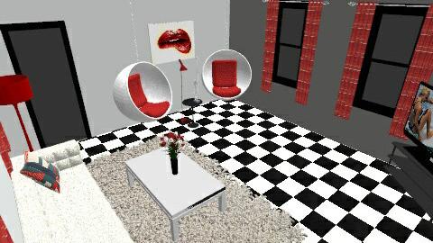 rbandw - Modern - Living room - by Katie Gangloff