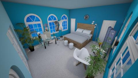 Bedroom Nika Redux - Modern - Bedroom - by RainbowSmoothie