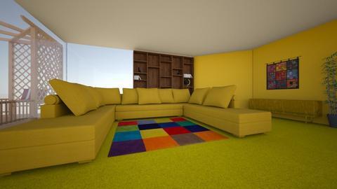 Sala de Estar e Visitas 1 - Minimal - by Tupiniquim
