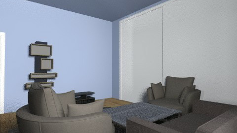 Living roum with bedroom - Classic - Living room - by FEJSAL80