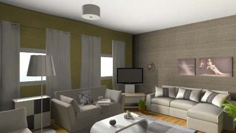 20140202 - Living room - by moncsycsy88