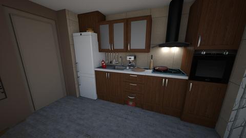 Plan Bucatarie v2 jucarie - Modern - Kitchen - by krokswell
