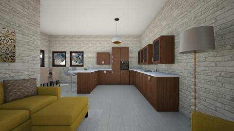 new - Kitchen - by beckygoatcher