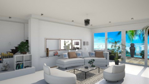 White modern.....f - Modern - Living room - by ines_sokol