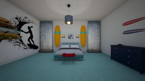 Emmas Surf Room - Bedroom - by emmas004