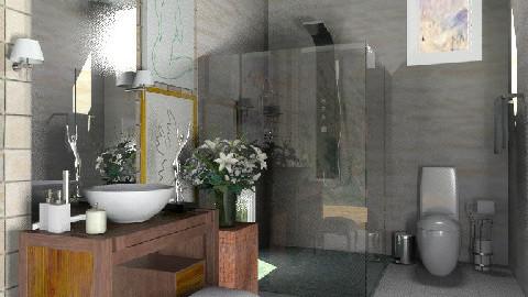 """""""L"""" of lady - Glamour - Bathroom - by sahfs"""