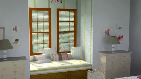 Guest Room - Feminine - Bedroom - by FranklyDear