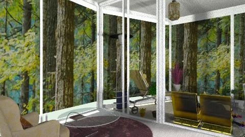 salon de vitre - Living room - by smyllex