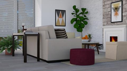 Clean Look - Modern - Living room - by millerfam