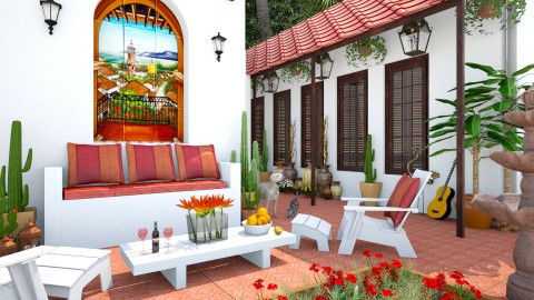 Design 250 Arizona Living - Garden - by Daisy320