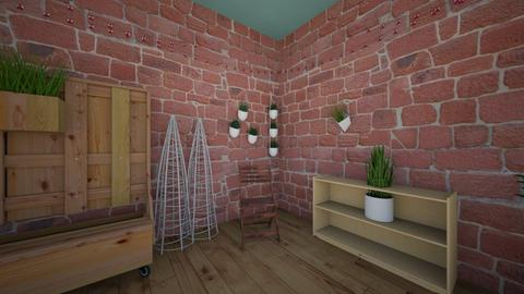 plant room - Rustic - by Gennevieve Moya