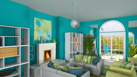 Matchy Matchy 2 - Eclectic - Living room - by Patti58