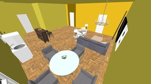 BOI - Modern - Living room - by MythicalUnicorn
