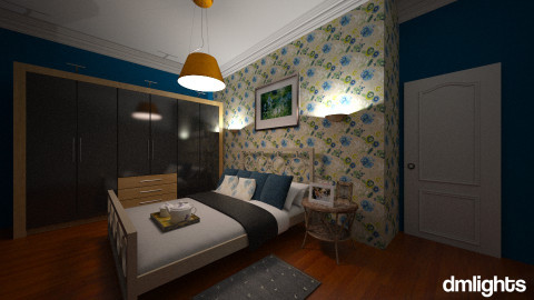 Quarto Lirio - Bedroom - by DMLights-user-982635