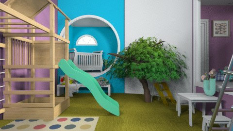 Kids Climbing Room - Kids room - by fenwayb