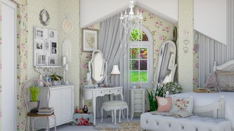 shabby chic vanity  - by Teri Dawn